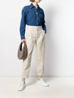 Closed - ribbed cropped trousers 65538W06956995990000