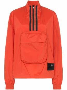 Y-3 - Y-3 PACKABLE HALF-ZIP SHELL TRACK JACKET 33695556053000000000