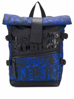 Versace Jeans Couture - logo print backpack UBBA9390959553688000