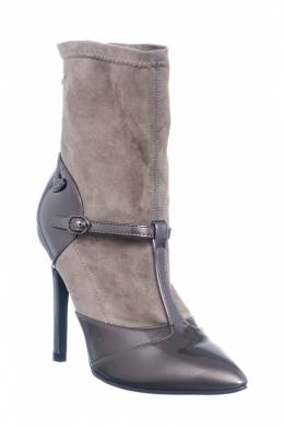 ankle boots Braccialini TA70_PATENT_TAUPE