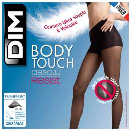 Колготки Dim Body Touch Absolu Resist 20 den, размер 1, noir (черный) 100625757755