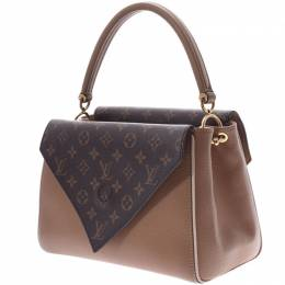 Louis Vuitton	 Brown Monogram Double V Bag