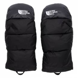 The North Face Black Down Nuptse Mittens NF0A4SFZ