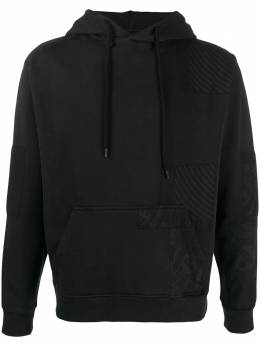 VYNER ARTICLES 0A32HOODIEBANDANAPATCHES BLACK Vyner Articles 0A32HOODIEBANDANAPATCHES