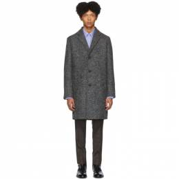 Hugo Hugo Boss Grey Wool Malte 1941 Coat MALTE1941 50415907