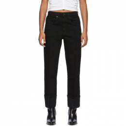Alexander Wang Black Stovepipe Jeans 4D994438ED