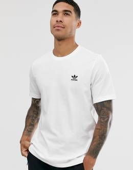 Белая футболка Adidas Originals essentials-Белый 8485010