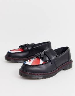 Лоферы с принтом Dr. Martens x The Who adrian-Черный
