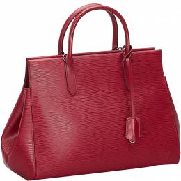Louis Vuitton Red Epi Leather Marly MM Bag 239454