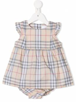 Burberry Kids боди в клетку House Check 8022632