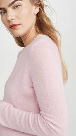 Theory Crew Neck Cashmere Pullover