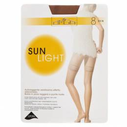 Чулки Omsa Sun Light Aut 8 den, размер 4-L, sierra 100640059755