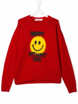 Philosophy Di Lorenzo Serafini Kids джемпер Happy Without You PJMA18FL98