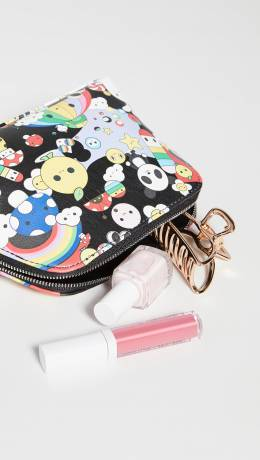 Alice+Olivia Friends With You x Alice + Olivia Nikki Printed Cosmetic Case