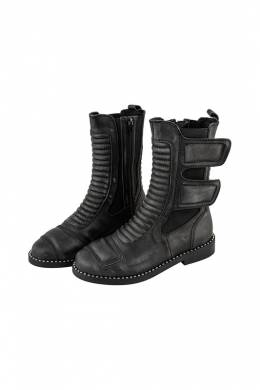 Полусапоги Jeffrey Campbell POLICE-2 BLACK WASHED
