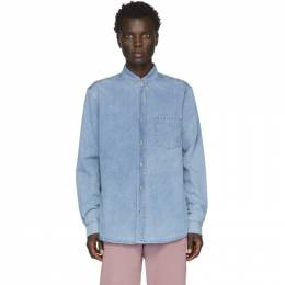 Nanushka Blue Denim Kaleb Shirt M_SB_00007