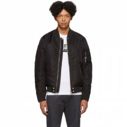 Diesel Reversible Black J-Ross-Rev Bomber Jacket 00SAS1 0EAZA
