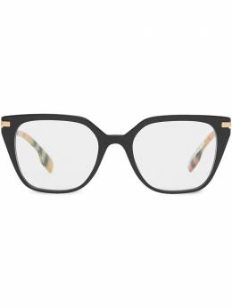 Vintage check detail glasses Burberry Eyewear 4080772