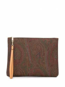 Etro paisley patterned clutch bag 0H8028007