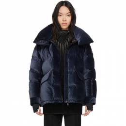 Moncler Grenoble Navy Down Atena Jacket 192826F06100902GB