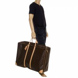 Louis Vuitton	 Monogram Canvas Sirius 70 Soft Sided Suitcase 249620