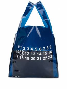 Maison Margiela printed detail clear tote bag S35WC0081PS386