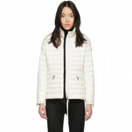 Moncler White Down Safre Jacket 201111F06101303GB