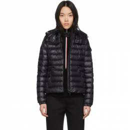 Moncler Black Down Bleu Jacket 201111F06100404GB