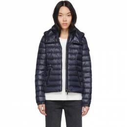 Moncler Navy Down Bleu Jacket 201111F06102301GB