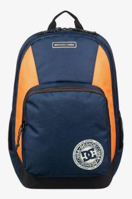 Рюкзак DC Shoes The Locker 23L (Black Iris/Orange Popsicle) 11024406104585460000