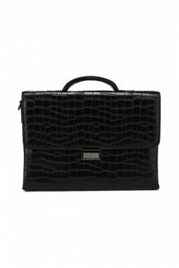 Портфель Barcelo Biagi 3055-4 (BB) BLACK CROCODILE