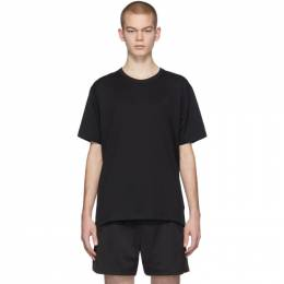 Acne Studios Black Nash Patch T-Shirt 25E173-