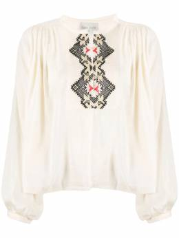 Forte Forte My Shirt embroidered blouse 7082MYSHIRT