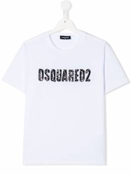 Dsquared2 Kids футболка с логотипом DQ03ZFD00MM