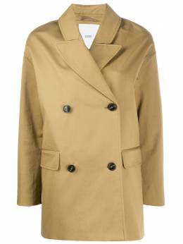 Closed oversized double breasted coat C9709430T22