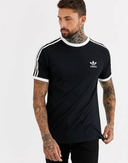 Черная футболка Adidas Originals california-Черный 9343013