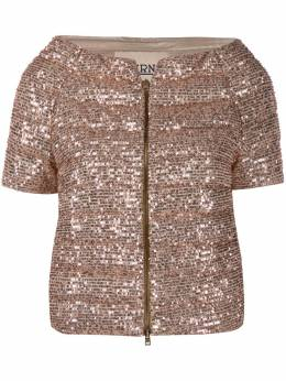 Herno sequin-embroidered puffer jacket PI1091D122198150