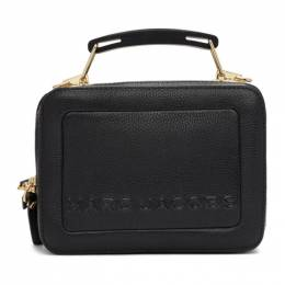 Marc Jacobs Black The Textured Mini Box Bag M0014840