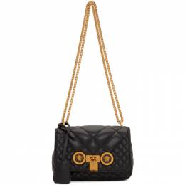Versace Black Quilted Icon Bag DBFG479 DNATR2