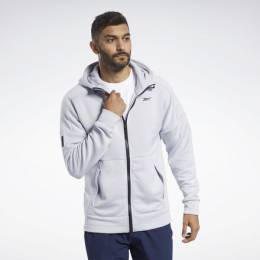 Худи United by Fitness Full-Zip Reebok FQ4407-0005