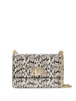 Furla snake-effect cross-body bag BAFKW41