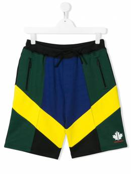 Dsquared2 Kids TEEN colour blocked track trousers DQ03YFD00X5