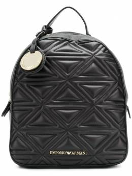 Emporio Armani quilted effect backpack Y3L020YH60A