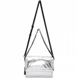 Marc Jacobs Silver The Metallic Pillow Bag M0016067
