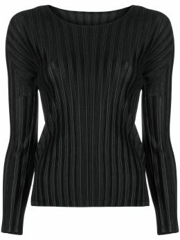 plissé fitted top Pleats Please Issey Miyake PP88FK111