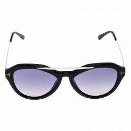 Tom Ford Black Smoke Lisa Sunglasses