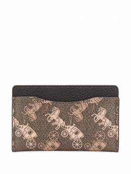 Coach all-over print cardholder 79414