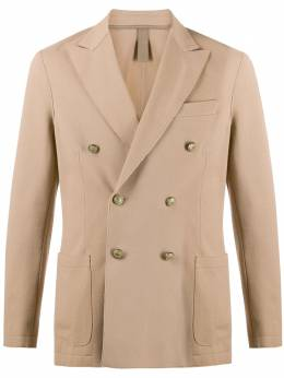 Eleventy fitted double breasted blazer A70GIAA02BTOTTJAC25001