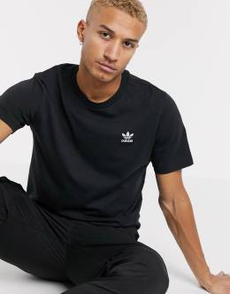 Черная футболка Adidas Originals essentials-Черный 8974958