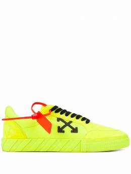 Off-White LOW VULCANIZED FLUO YELLOW BLACK OMIA085R20C210506210